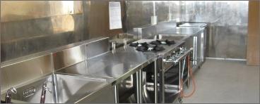 業務用厨房設備類販売施工